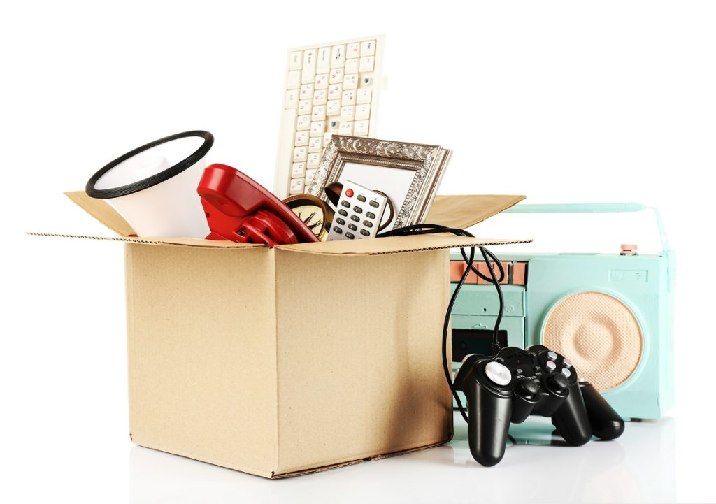 Box of unwanted stuff
